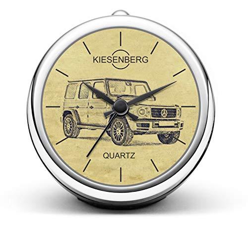 KIESENBERG Design Tischuhr Geschenke für Mercedes Benz G Klasse W463 ab 2018 Fan Uhr T-5384