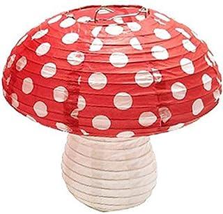 DUESI Grote Paddestoel Vormige Papier Lantaarns voor Verjaardag Party Decor Opknoping 3D Paddestoel Ornament Achtergrond v...