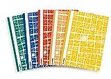 Herma, copertina per quaderni DIN, per quaderni scolastici Cartelle DIN A4 Set da 5