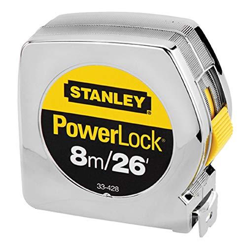 Stanley(スタンレー)Power Lock ( パワー ロック ) 8m/26 コンベックス 巻尺 メジャー [並行輸入品]