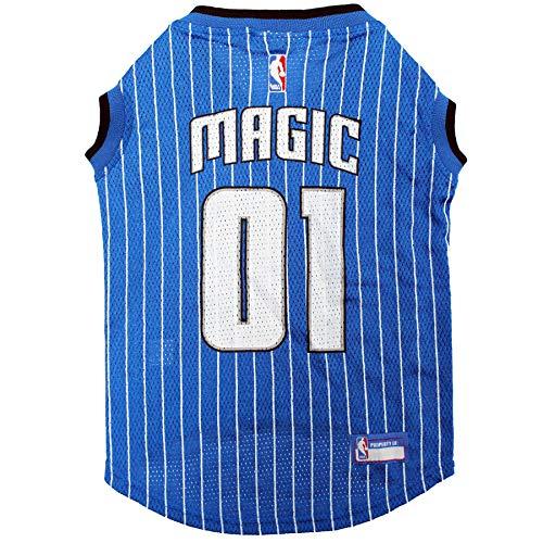 NBA ORLANDO MAGIC DOG Jersey, Small - Tank Top Basketball Pet Jersey