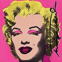 Andy Warhol ジクレープリント キャンバス 印刷 複製画 絵画 ポスター (マリリンモンロー3)