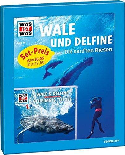 Geschenk-Set Wale und Delfine: WAS IST WAS Buch, Hörspiel, Poster (WAS IST WAS Geschenksets)