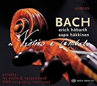 Bach: Sonatas for Violin & Harpsichord by Aapo H盲kkinen