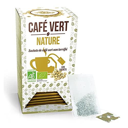 Cafe vert nature BIO - 54 Grammes - 18 sachets
