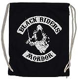 Urban Backwoods Black Riders MC Bolsa de Cuerdas con Cordón Gimnasio