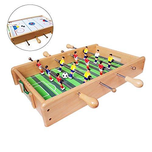 Tafelvoetbal Soccer Pinball Spelen, Voetballen & Hockey 2 in 1 Tabel Game Indoor Portable Sport Tafel Van Commissarissen Voor Kinderen En Familie