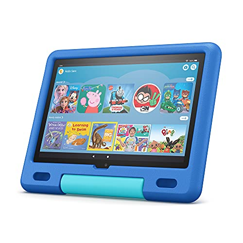 All-new Fire HD 10 Kids tablet | for ages 3–7 | 10.1', 1080p Full HD, 32...