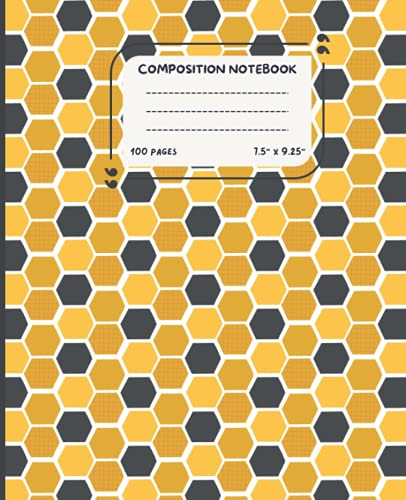 Composition Notebook: College Ruled Journal & Notebook for Students, Kids & Teens   Pretty Blank College Lined Journal for Schoo