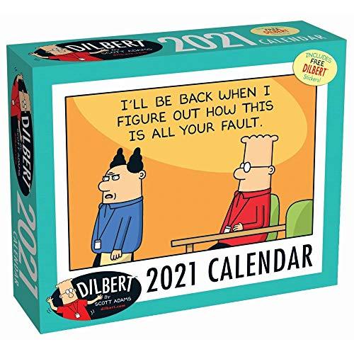 Andrews McMeel Publishing, Dilbert Desk Calendar 2021