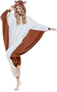 Flying Squirrel Costume Sleepsuit Adult Pajamas