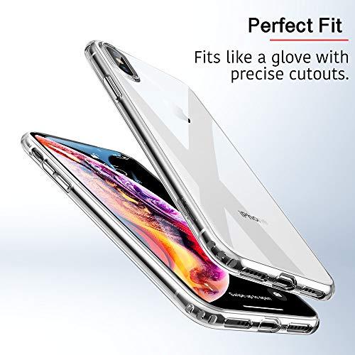 ESR Slim Flexible Cover Compatible for iPhone X/XS