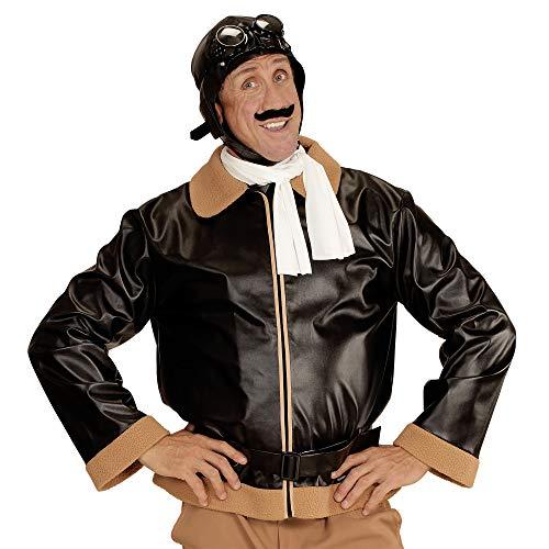 Widmann 06593 ? Adultes Costume Retro Aviateur, Veste, écharpe et Bonnet aviateur