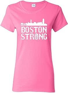 Ladies Boston Strong Skyline 617 T-Shirt Tee