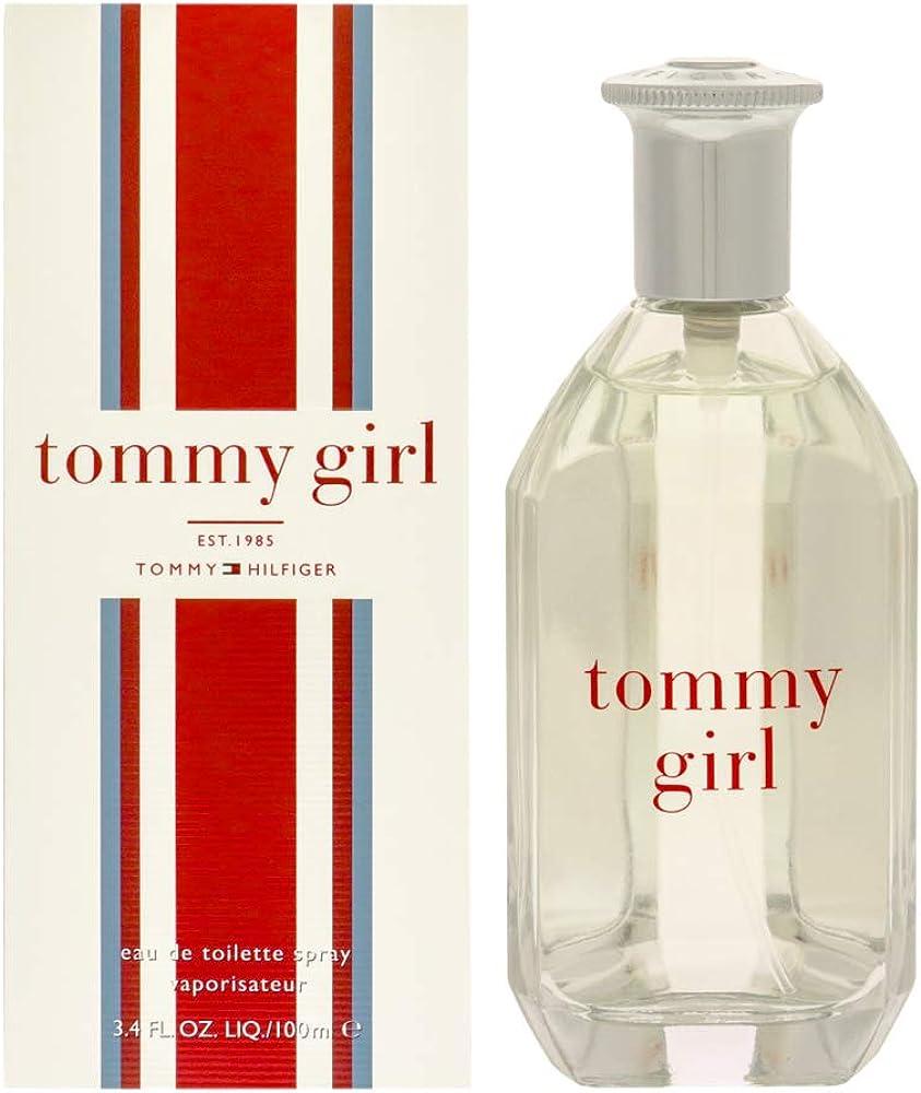 Tommy hilfiger, tommy girl, eau de toilette,profumo per donna, 100 ml H29 19095