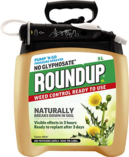 Roundup Naturals Glyphosate-Free Powerful Weed...