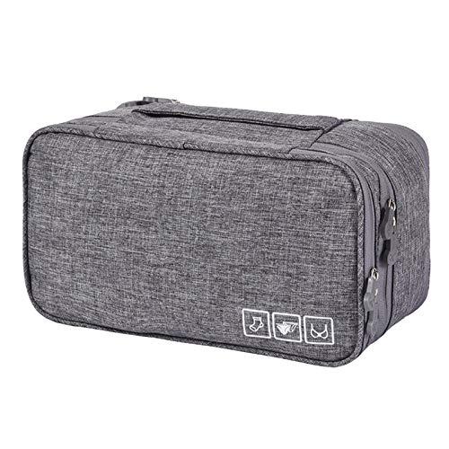 Haodasi Multi-Functional Travel Storage Bag Waterproof Travel Luggage Packing Organisers for Underwear, Socks, Cosmetics