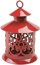 Lanterna Aladim Jialee Vermelha 13cm