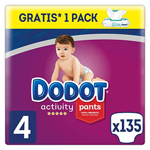 Dodot Activity Pants - Pañal-Braguita, 9-15kg + Dodot Aqua