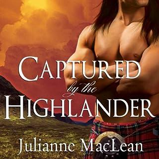 Captured by the Highlander audiobook cover art