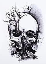 Doodshoofd tattoo horrortattoo fake tattoo om te l...