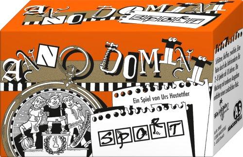 ABACUSSPIELE 09001 - Anno Domini - Sport, Quizspiel, Schätzspiel, Kartenspiel