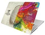 October Elf Funda rígida para MacBook Air de 13 pulgadas 2 en 1 con funda para MacBook Air de 13 pulgadas Modelo: A1369 / A1466 (Cerebro izquierdo derecho A)