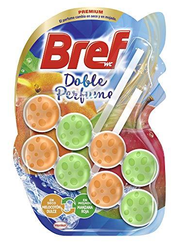 Bref Poder Activo Doble Perfume Orange Cesta Higiénica WC - 2 x 50 gr