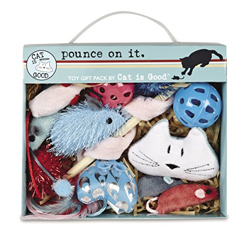 Cat Is Good 12-Piece Pounce Toy Gift Box Only $4.93 (Retail $14.99)
