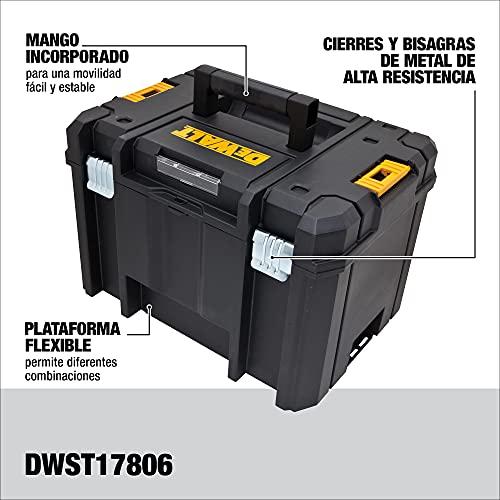DEWALT TSTAK Tool Box, Deep (DWST17806) , Black