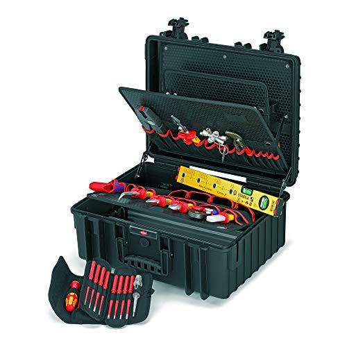 Knipex 00 21 36 Maleta de herramientas Robust34 Electro