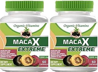 Maca Capsules Original Pill Shape Buttocks Bigger Butt Booty Shaper Super MACA Get a Bigger Booty and Free Maca Extreme 60...