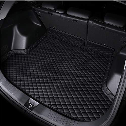 HAZYJT Deluxe Leder Autoausstattung Kofferraumwanne für Kia Sportage 2017 2019 2020 Kofferraummatten,E