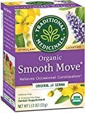 Traditional Medicinals Organic Smooth Move Senna Laxative Tea, 16 Tea Bags (Pack of 6)