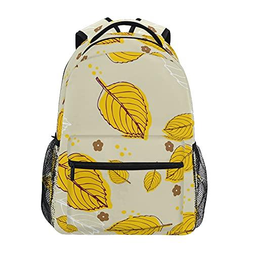 Hojas Mochila escolar Bookbag Viaje Portátil Bolsa para Niñas Niños Adolescente(20324673)