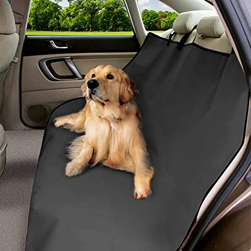 URAQT Coprisedile Auto per Cani, 600D Oxford Coprisedile Posteriore Auto Cani, Facile da...