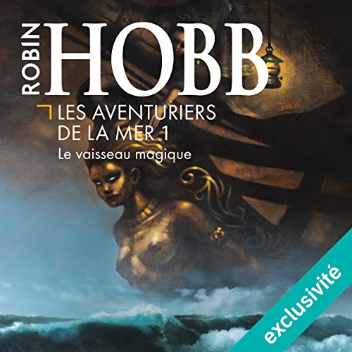 Le vaisseau magique audiobook cover art