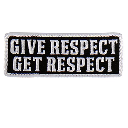 Hot Leathers - PPL9471 Give Respect Embroidered Patch (Multicolor, 4