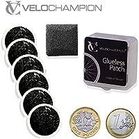 VeloChampion Puncture Repair Patches Autoadhesivo Pack de 6