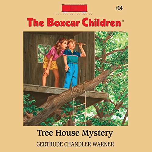 Tree House Mystery audiobook cover art