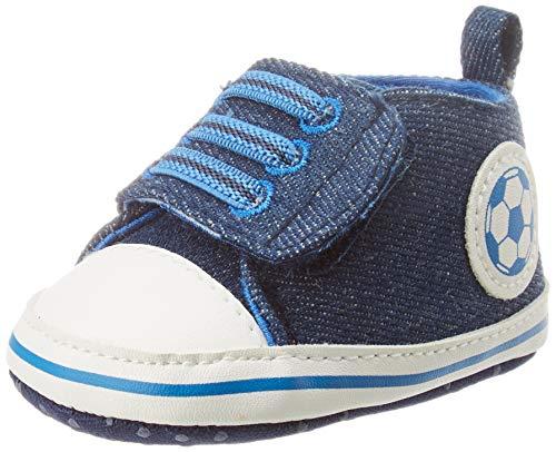 Chicco Polacchino Nik, Sneaker Bambino, Blu (Jeans 860), 19 EU