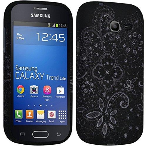 Seluxion LM11 - Carcasa semirrígida para Samsung Galaxy Trend Lite (s7390) (incluye protector de pantalla), diseño de LM11