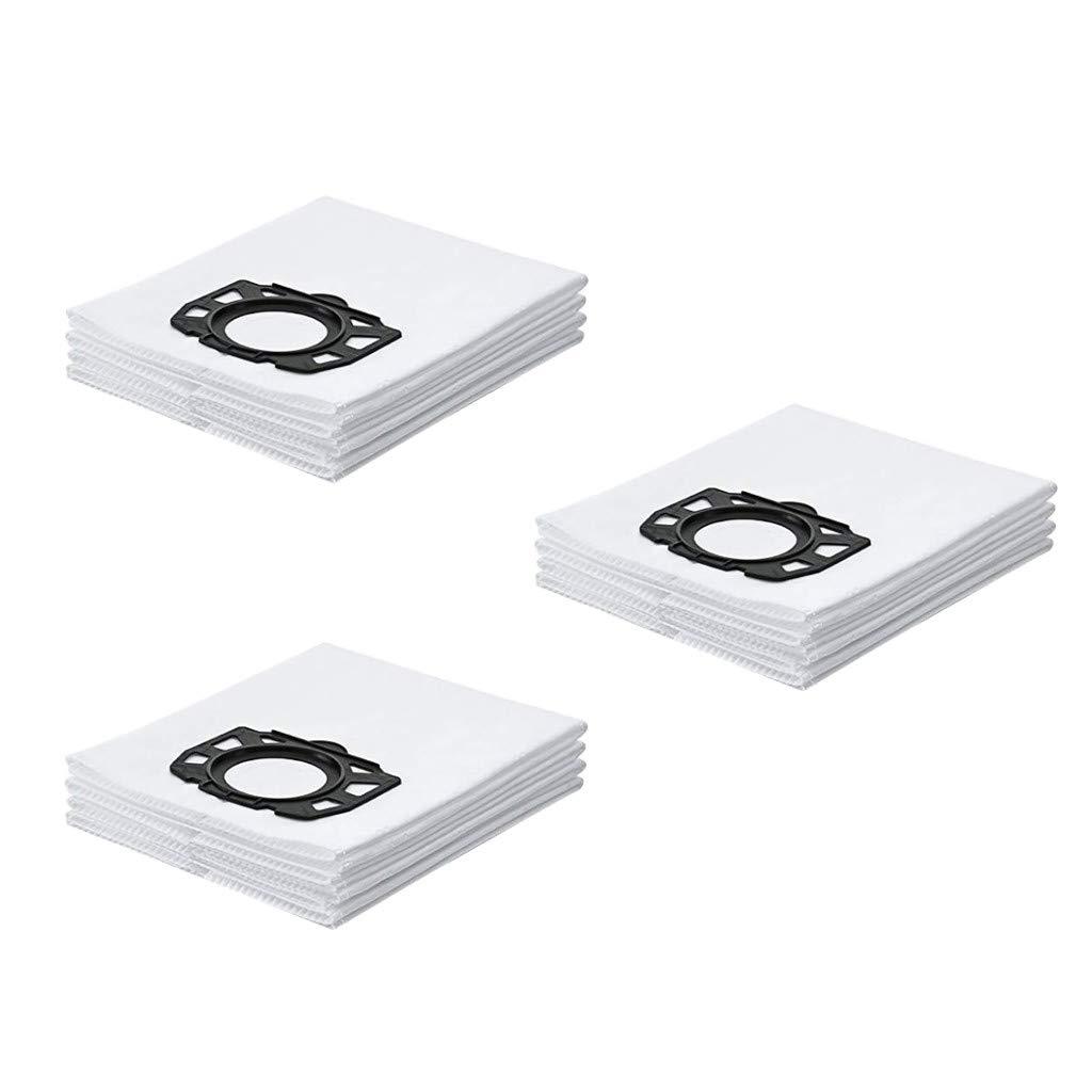 TwoCC Accesorios para aspiradoras, bolsas de filtro de vellón de 3 ...