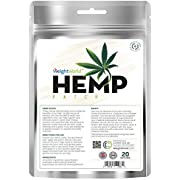 Natural Hemp Oil Patches x 20 - Muscle & Joint Patches, Ideal for Neck & Back, Use On Knee Also, Pure Hemp in Every 24 Hour Active Patch, Target Muscle & Joints Directly