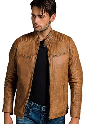 Urban Leather Ralph, Tan, Größe : 4XL
