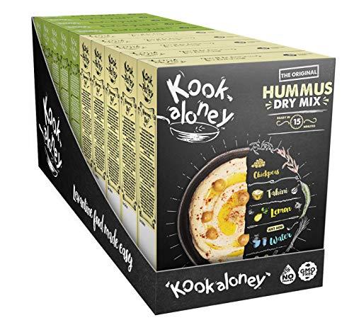 Kookaloney - Mélange - lot de 10 - COMBO (Houmous & Falafel)