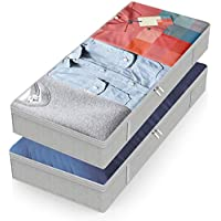 2-Pack Yeeken Large Capacity Underbed Storage Box