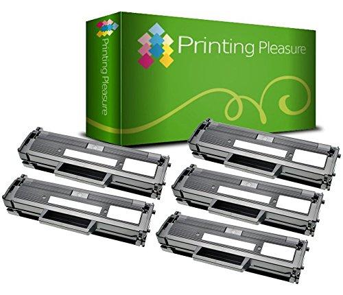 5 Compatible Toner Cartridges for Dell E310DW E514DW E515DW E515DN - Black, High Yield