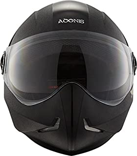 Steelbird SB-50 Adonis Classic Black with Plain Visor,600mm