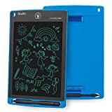 Mafiti LCD Writing Tablet 8.5 Inch Electronic Writing Drawing Pads Portable Doodle Board Gifts for Kids Office Memo Home Whiteboard Blue